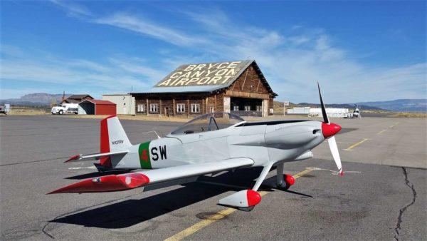 Vans RV-4 flying Nevada Utah GPS groundspeed Bryce