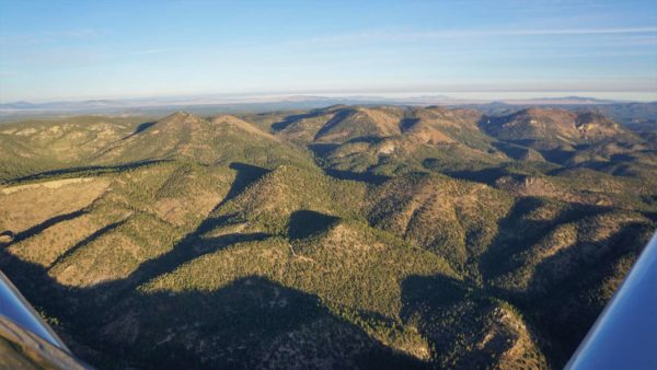 New Mexico flying mountains wilderness RV-4
