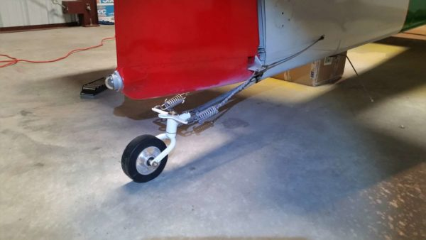Vans RV-4 tailwheel Bell fork swiveling