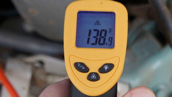 Missy Immersion Block Engine Heater Testing Heat Warm Cold Weather Kill A Watt Infrared