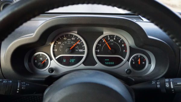 jeep wrangler Tucson 50000 miles