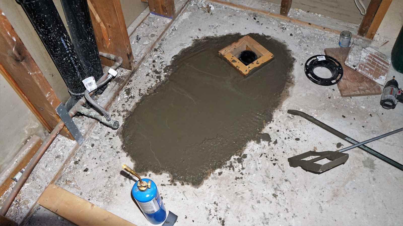 Concrete and Plumbing - JdFinley com